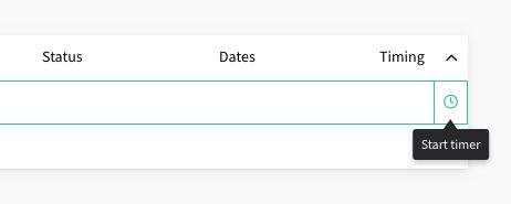 start timer from task
