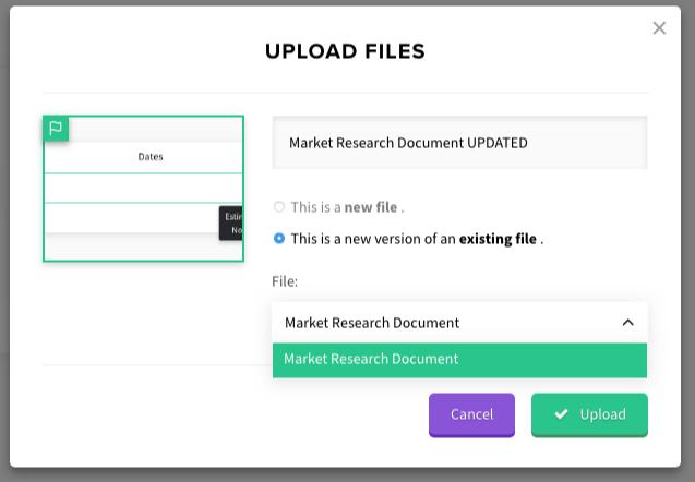 version control file upload