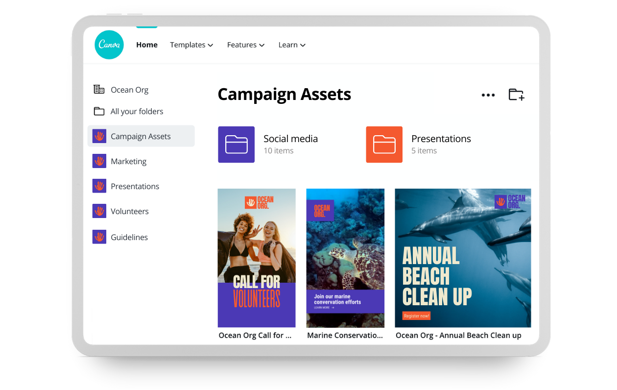 13 helpful Apps and Tools for running an Agency - Canva screenshot - Hassl